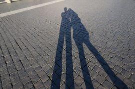 アラフィフ夫婦の初イタリア<9> ローマ・夕暮れのサンタンジェロ城でまったり編