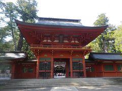 桜咲く香取神宮を参拝しました