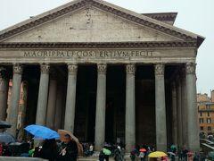 ローマ{ANA旅作Cクラス(仙台⇔成田⇔パリ2泊)とイージージェット(パリ→ローマ、ナポリ→パリ)で行くローマ3泊① フォロ・ロマーノ、カンピドリオの丘、パンテオンを巡ります。2013年12月28-31日}