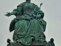 2013.12年末年始キプロス旅行22-ウィーン朝の散歩,王宮からマリアテレジア広場,ブルグ公園,市立公園