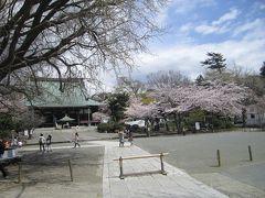 ある春の晴れた日に旧東海道藤沢宿あたりをお散歩