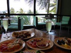 春のグアム満喫♪ Vol5(第2日目昼) ☆アウトリガー・グアム・リゾートの「パームカフェ」でサンデーブランチ♪