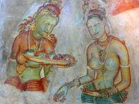 インド洋に浮かぶ一粒の真珠・スリランカへ♪ vol. 3 シーギリア・ロックに登り、天空の美女たちに会った最高の一日