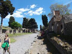 シニアのイタリア南~北~南16日間  13.ポンペイ見物