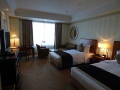 05.卒業旅行は大阪へ4泊 帝国ホテル大阪 スーペリアツインルーム リバービューの禁煙室2部屋