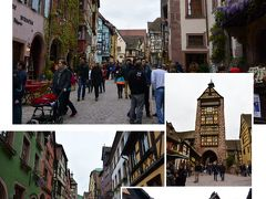 スイスのチューリッヒからフランスのアルザス地方へ リクヴィル編