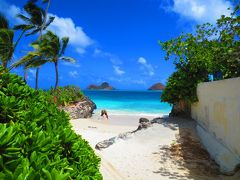 ANA&UA特典ファーストクラスで行くハワイ5日間~ラニカイの小路巡り!Ocean Access 11(11本目の小路)