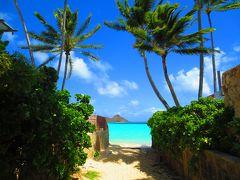 ANA&UA特典ファーストクラスで行くハワイ5日間~ラニカイの小路巡り!Ocean Access 9(9本目の小路)