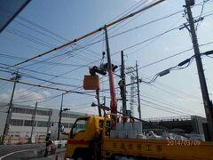 09日曜名鉄電車太田川駅からの景色