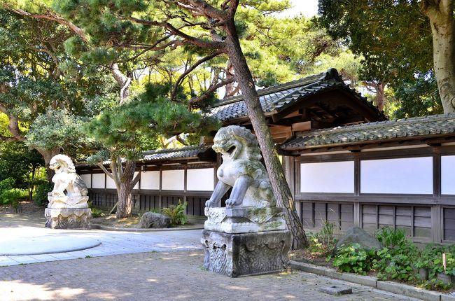 須磨寺駅から500mほど坂道を登っていくと「花と水と歴史のオアシス」を標榜する神戸市立須磨離宮公園があります。<br />ここは、千年以上の歴史を持つ由緒ある「月見」の名所として知られています。源氏物語の光源氏のモデルとされる平安貴族 在原行平が、配流されたこの地の月に、都で見た名月をだぶらせて都を偲んだとされる場所が須磨離宮公園内の「月見台」。「月見山」の地名や駅名のルーツになっています。<br />須磨離宮公園は、須磨離宮跡に造られた広大な都市庭園です。広い敷地に溢れる緑と花。約300種、8万株の草花や花木が植えられ、一年を通して花が咲いています。庭園のランドマークの噴水広場は、水をモチーフにした美しい欧風庭園です。宮殿を模したレストハウスから湧き出た水は、メインフォールとなってカスケードを下り、最後は美しい弧を描く大噴水となって吹き上がります。その周りにはバラ園が幾何学的に配置され、近代的ながら欧風庭園の伝統様式を備えています。ヨーロッパの宮殿を彷彿とさせる前庭、噴水越しに見下ろす瀬戸内海の穏やかな海、そこをゆっくりと滑り行く船影、そして水脈。かつての離宮の面影を一部に遺し、賛沢な空間が広がっています。<br /><br />