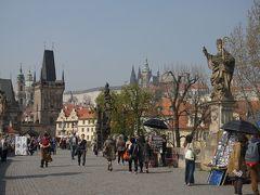 初マイレージ旅は中欧 (1) プラハの街歩きと初のホッケー観戦