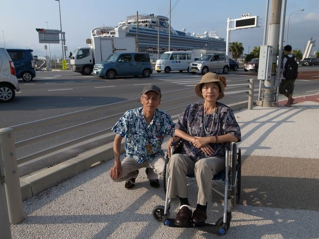 大改装をしたダイヤモンド・プリンセス台湾周遊クルーズに行って来ました<br />2月に乗った時と比べ、思った以上の大改装でした<br /><br />台湾には2度行った事が有りますが、花蓮・高雄は初めてなので<br />とても期待して行きました<br /><br />今回は車椅子で参加されている方がとても多くいらっしゃいました<br />もっと多くの車椅子の方に利用して貰いたいと思います<br /><br />船外での公共交通機関の車椅子での利用も報告します