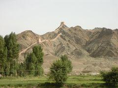 中国、河西回廊の旅その6-嘉峪関と懸壁長城