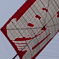 (1/2) 浜松の伝統ある勇壮な凧上げ合戦と絢爛豪華な御殿屋台引き回し − 凧揚げ合戦 5月  2014年