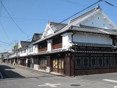 八女福島の伝統的な町並みを歩く(つつじ寺も行きました)