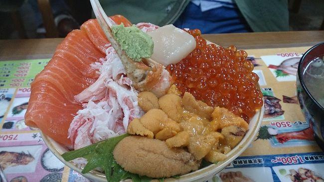久々の北海道。<br />北海道といえば、やっぱりウニ、イクラ、海鮮丼にジンギスカン、スープカレーにラーメンにスイーツと美味しいものいっぱい!!<br />大満足の北海道旅行でした。