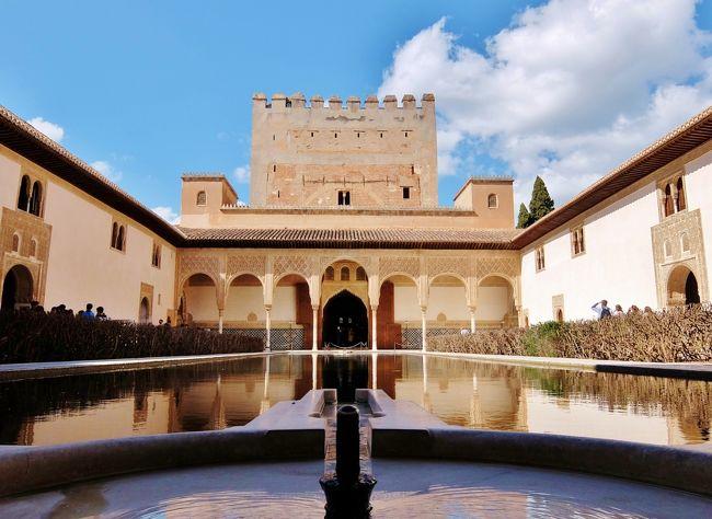 スペイン旅行も早くも4日目。<br />550km離れたグラナダに向けて出発。<br />イスラム芸術の最高傑作といわれるアルハンブラ宮殿を訪れる。<br />