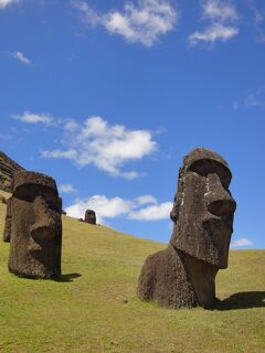 南米 12泊16日の旅 イースター島観光(ラノ・ララク方面)(3日目)