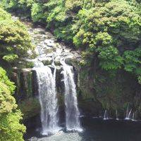 神川大滝で癒されて  ※鹿児島県錦江町