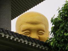 2014春、台湾旅行記9(4):5月6日(4):勝興から台中へ、宝覚寺、黄金弥勒菩薩像、泰山木の花、蘭の花