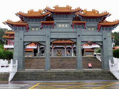 2014春、台湾旅行記9(6):5月7日(1):台中、泊まったホテルとその界隈、日月潭へ、文武廟正門、狛犬、麒麟像