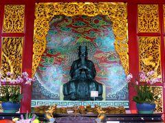 2014春、台湾旅行記9(7):5月7日(2):日月潭、文武廟、孔子像、孔子の弟子の四哲像、関羽像