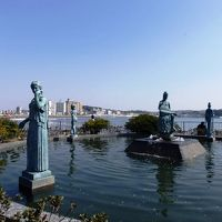 日本の旅 関東地方を歩く 神奈川県藤沢市江の島の北緑地広場「春まつり」会場周辺