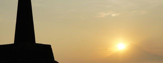 インドネシアの遺跡を巡る旅 2 ... ボロブ...