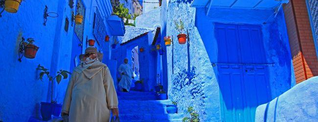 GW次なる絶景を求めてモロッコへ(青の...