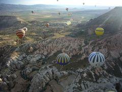 春うららトルコ世界遺産を巡るツアーで過ごす2014GW(その6)~カッパドキア(気球編)