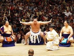 大相撲五月場所 初観戦 8年ぶりに日本人力士優勝か?