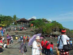 母娘のインドネシア旅行 タナロット寺院