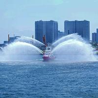 第66回 東京みなと祭 水と消防ページェントー2 放水