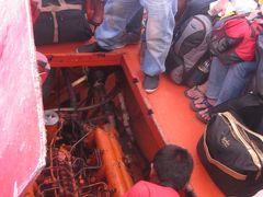 2014 プエルト・ガレラ2日目はのんびりしてマニラに戻ろうとしたら船のエンジンがいきなりイカれて、ちゃんと戻れるのか!?