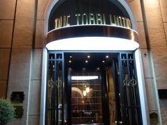 初夏の優雅な北イタリア旅行♪ Vol3(第1日目夜) ☆ベローナ(Verona):豪華なホテル「Due Torri Hotel」の部屋から素晴らしい眺め♪