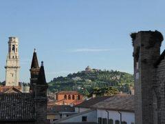 初夏の優雅な北イタリア旅行♪ Vol5(第2日目朝) ☆ベローナ(Verona):「Due Torri Hotel」から素晴らしい朝の風景を眺めて♪豪華な朝食を頂く♪