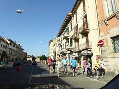 初夏の優雅な北イタリア旅行♪ Vol6(第2日目午前) ☆ベローナ(Verona)から専用車チャーターでサン・ベネデット・ポー(San Benedetto Po)へ♪
