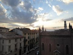 初夏の優雅な北イタリア旅行♪ Vol17(第2日目夕) ☆ベローナ(Verona):マントヴァ(Mantova)から専用車ベンツでベローナ(Verona)へ帰る♪