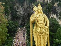 ヒンドゥー教と仏教の史跡を巡る旅5(KLでヒンドゥー教聖地バトゥ洞窟観光編)