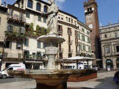 初夏の優雅な北イタリア旅行♪ Vol22(第3日目午前) ☆ベローナ(Verona):ドゥオーモ(Duomo)の外観・エルベ広場(Piazza del Erbe)・市庁舎の階段(Palazzo del Comune)を鑑賞♪