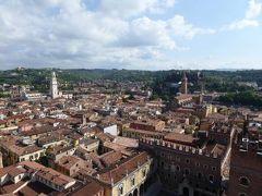 初夏の優雅な北イタリア旅行♪ Vol23(第3日目午前) ☆ベローナ(Verona):ランベルティの塔(Torre dei Lamberti)から素晴らしい絶景♪
