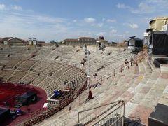 初夏の優雅な北イタリア旅行♪ Vol26(第3日目午前) ☆ベローナ(Verona):ローマ帝国のアレーナ(Arena)を鑑賞♪