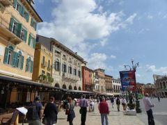 初夏の優雅な北イタリア旅行♪ Vol27(第3日目午前) ☆ベローナ(Verona):アレーナ(Arena)からスカラ城(カステルヴェッキオ:Castel Vecchio)へ歩く♪
