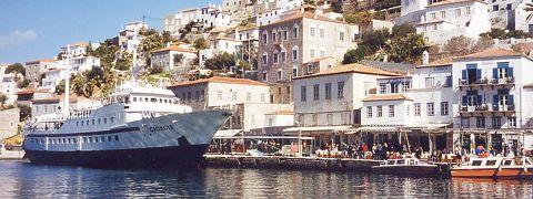 2001年春 ヨーロッパ3カ国周遊ツアー (9 days) =ポロス島=