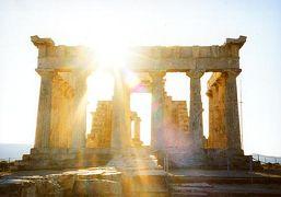 2001年 ヨーロッパ3カ国周遊ツアー(9 days) =エギナ島=