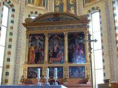 初夏の優雅な北イタリア旅行♪ Vol30(第3日目午前) ☆ベローナ(Verona):サン・ゼーノ・マッジョーレ教会(San Zeno Maggiore)のカラフルな宗教画を鑑賞♪