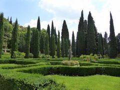 初夏の優雅な北イタリア旅行♪ Vol33(第3日目昼) ☆ベローナ(Verona):美しい庭園「Palazzo Giusti del Giardino」を優雅に鑑賞♪