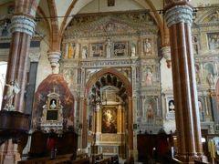 初夏の優雅な北イタリア旅行♪ Vol40(第3日目午後) ☆ベローナ(Verona):ドゥオーモ(Duomo)の素晴らしいフレスコ画を鑑賞♪