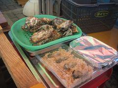2014 最近流行りの牡蠣小屋が八景島にもできたので、行ってみました!