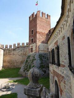 初夏の優雅な北イタリア旅行♪ Vol46(第4日目午前) ☆ソアーヴェ(Soave):憧れのスカラ城(カステッロ・スカリジェロ Castello Scaligero)を見学♪